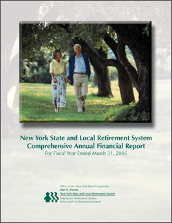 2005 Comprehensive Annual Financial Report Cover