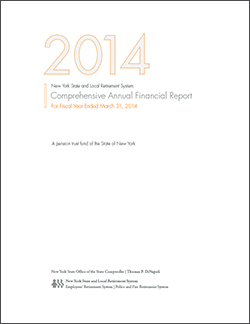 Comprehensive Annual Financial Report - 2014 Cover
