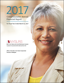 2017 Comprehensive Annual Financial Report Cover