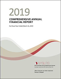 Comprehensive Annual Financial Report - 2019 Cover