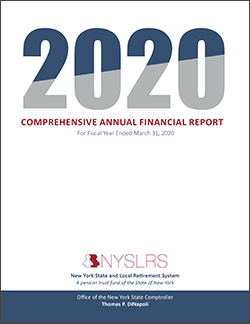 Comprehensive Annual Financial Report - 2020 Cover